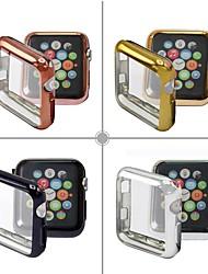 Недорогие -чехлы для яблочных часов серии 4/3/2/1 совместимость с тпу apple