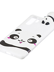 cheap -For HUAWEI P30 pro 3D Cute Coloured Painted Animal TPU Anti-scratch Non-slip Protective Cover Back Case