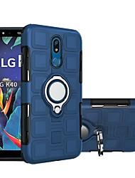abordables -Coque Pour LG LG Stylo 5 / LG K40 Imperméable / Antichoc Coque Couleur Pleine Flexible Plastique