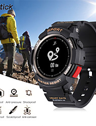 cheap -F6 Smart Watch Phone NRF51822 Smartwatch Watch For Men IP68 Sleep Monitor Remote Camera Wearable Devices or iOS Android