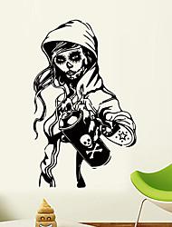 Недорогие -стикеры стены хэллоуин череп - слова&усилитель; цитаты стикеры на стенах персонажи кабинет / кабинет / столовая / кухня