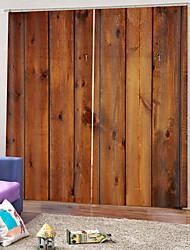 Недорогие -Горячая распродажа прозрачная печать неувядающая плотная ткань для штор водонепроницаемая литьевая штора для ванной комнаты тепло / звукоизоляция для гостиной / гостиной