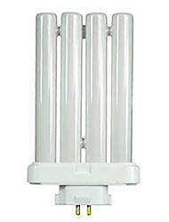 Недорогие -1шт 27 W Люминесцентная лампа E26 / E27 T 4 Светодиодные бусины Диммируемая Белый 120 V