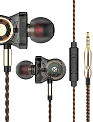 cheap -QKZ Trustfire CK5 In Ear Wired Headphones 6D Stereo Earphone Silica Gel Earbud Earphone Stereo Headset