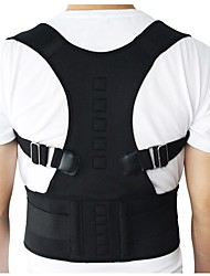 cheap -Men Women Adjustable Magnetic Posture Corrector Corset Back Brace Back Belt Lumbar Support Straight Corrector