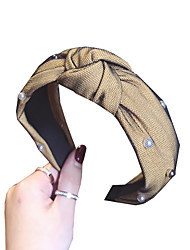 cheap -Headbands Hair Accessories Other Material Wigs Accessories Women's 1 pcs pcs cm Casual / Daily Wear / Casual / Daily Ordinary / Leisure Women / Ultra Light (UL)