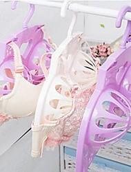 cheap -Plastic Multi-function / Non-Slip Underwear Hanger, 1pc