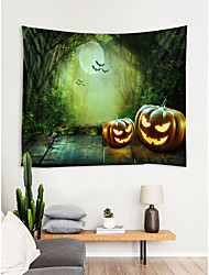cheap -Halloween Pumpkin Knight Print Tapestry Wall Hanging Art Decoration