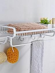 cheap -Bathroom Shelf Creative Modern Aluminum 1pc - Bathroom Wall Mounted