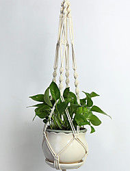 cheap -Hanging Basket Hand-knitting Plant String Bag for Home Garden Wall Decoration Gift
