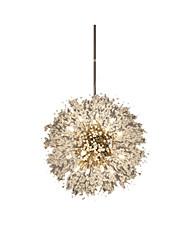 cheap -1-Light Modern Pendant Lighting Crystal Pendant Lamp Decorative Pendant Lamp for Dining Room Globe Pendant Lamp
