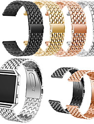 cheap -Watch Band for Fitbit Blaze Fitbit Butterfly Buckle Stainless Steel Wrist Strap