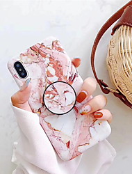 cheap -Case For Apple iPhone XR / iPhone XS Max / iPhone X with Stand / Pattern Back Cover Marble Hard Plastic