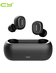 cheap -QCY T1C TWS True Wireless Headphone Wireless Earbud Bluetooth 5.0 Stereo Audio 3D Mini Headset Dual Microphone Box