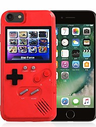 cheap -Case For Apple iPhone 8 / iPhone 7 Dustproof / Game case Back Cover 3D Cartoon Hard Plastic