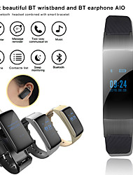 cheap -Factory OEM DF01 Men Smart Bracelet Smartwatch Android iOS Bluetooth Waterproof Touch Screen Heart Rate Monitor Blood Pressure Measurement Sports Pedometer Call Reminder Activity Tracker Sleep