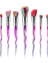 cheap -Professional Makeup Brushes 7 PCS Soft New Design Full Coverage Lovely Color Gradient Plastic for Makeup Set Makeup Tools Makeup Brushes Blush Brush Foundation Brush Makeup Brush Eyeshadow Brush