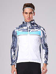 cheap -Mountainpeak Men's Long Sleeve Cycling Jacket Black / Red Sky Blue+White Bike Jersey Top Mountain Bike MTB Road Bike Cycling Breathable Quick Dry Sports Elastane Clothing Apparel / Stretchy