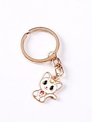 cheap -Cat Dog Tag Rhinestone Cartoon Alloy