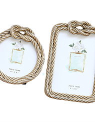 cheap -Photo Frame Hemp Rope Creative Design Picture Frame Home Ornament