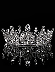 cheap -Crystal / Alloy Tiaras / Headdress / Headpiece with Sparkling Glitter / Glitter / Crystal / Rhinestone 1 Piece Wedding / Party / Evening Headpiece