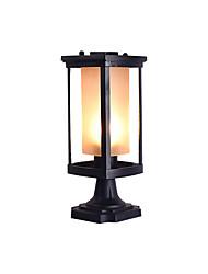 Недорогие -Minimslist газон свет столб светильник новый дизайн современный современный наружный свет столба наружный металлический наружный свет IP 65