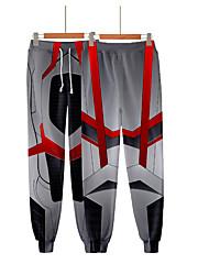 cheap -Avengers Endgame 4 Quantum Battle Suit 3D Printing Men Women Cosplay Pants