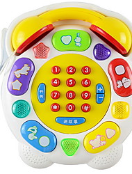 cheap -Reading Toy Toy Phone Stress and Anxiety Relief Relieves ADD, ADHD, Anxiety, Autism Parent-Child Interaction Creative Cartoon Characters Plastic Shell ABS Resin Cartoon 3 pcs Baby All Toy Gift
