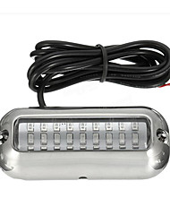 cheap -3.5inch Blue 27 Led 316SS Cover 50W 74Lm Under Water Pontoon Waterproof Boat Transom Lights