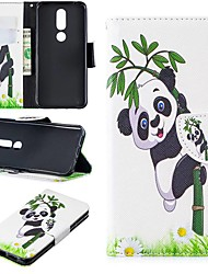 cheap -Case For Nokia 3.2 / Nokia 6 2018 Magnetic / Flip / with Stand Full Body Cases Panda Hard PU Leather for Nokia 1 / Nokia 1 Plus / Nokia 2/Nokia 2.1/Nokia 3.1/Nokia 5.1/Nokia 4.2/Nokia 8/Nokia 7.1