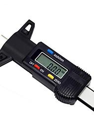 cheap -Car 0-25.4mm Digital Tyre Tire Tread Depth Tester Gauge Meter Measurer Tool Caliper LCD Display Tpms Tire Monitoring System