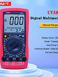 cheap -UNI-T Digital Multimeter UT58A AC DC Voltmeter with Large LCD Screen Data Hold Buzzer tester Multimetro