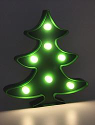 cheap -1pc Christmas tree Night Light / Decoration Light Warm White AA Batteries Powered Lovely / Atmosphere Lamp / Romantic Gift <5 V