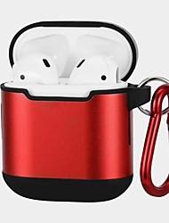 Недорогие -Сумка для наушников Apple Airpods Скретч-доказательство Пластиковый корпус