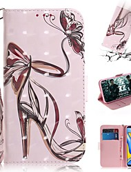 cheap -Case For Samsung Galaxy M10(2019) /M20(2019) /M30(2019)  / Wallet / Card Holder / Shockproof Full Body Cases High Heels PU Leather for  Galaxy J4 Plus(2018) / J6 Plus(2018) /J5 (2016) / J3 (2016)