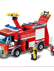 cheap -GUDI Action Figure Building Blocks Construction Set Toys Car Fire Engine compatible Legoing Boys' Girls' Toy Gift / Educational Toy