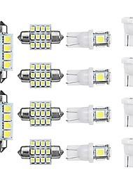 Недорогие -14pcs T10 Автомобиль Лампы 480 lm Светодиодная лампа Подсветка для номерного знака / Внутреннее освещение Назначение Универсальный Все года