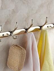 cheap -Robe Hook Creative Modern Brass 1pc - Bathroom Wall Mounted