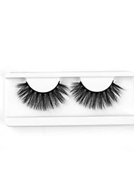 cheap -Neitsi One Pair 6D Synthetic False Eyelashes Black Women Girls Makeup Party Eyelashes Extensions G7D08