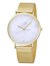 cheap -women's metal case alloy watchband round dial scale free pointer quartz watch