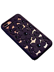 cheap -Case For Apple iPhone 8 Plus / iPhone 7 Plus Dustproof Back Cover Flower TPU