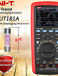 cheap -UNI-T UT181A True RMS Datalogging Multimeter Digital Multimeter Low-Pass Filtering/nS Conductance/Dual Temperature Measurement