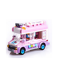 cheap -Building Blocks 1 pcs compatible Legoing Adorable Hand-made Police car Helicopter All Toy Gift