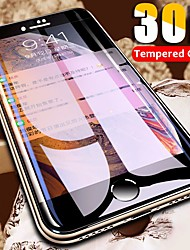 cheap -30d curved edge protective glass on the for iphone 7 8 6 6s plus tempered glass full cover for x xr xs max screen protector film