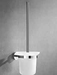 cheap -Toilet Brush Holder New Design Modern Stainless Steel 1pc - Bathroom Wall Mounted