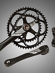 cheap -Cranksets For Road Bike / Mountain Bike MTB Aluminum Alloy Reduces Chafing / Durable / Easy to Install Cycling Bicycle Black