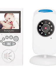 cheap -1MP Video Baby Monitor With One Digital Camera Color LCD ScreenInfrared Automatic Night VisionTemperature Sensor 2-Way Talk Support Up To 1000ft Stable Transmission