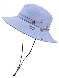 cheap -Hiking Hat Fishing Hat Fisherman Hat Hat 1 PCS Portable Sunscreen UV Resistant Breathable Solid Color Flannel Autumn / Fall Spring Summer for Men's Women's Camping / Hiking Hunting Fishing Burgundy