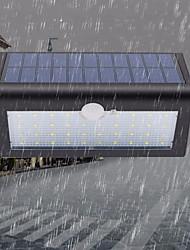 Недорогие -1шт 5 W Внешние настенные светильники / Солнечный свет стены Водонепроницаемый / Работает от солнечной энергии / Монитор обнаружения движения Тёплый белый / Белый 5 V