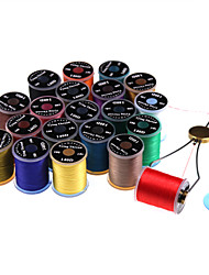cheap -12colors/pack 140D 100yards Fly Tying Line Fly Tying Thread Non Waxed